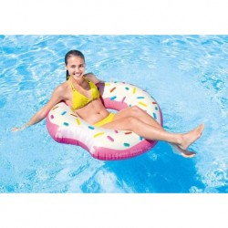 Flotador Dona Inflable Donut Intex Pool Party 59265 1.07mt (Entrega Inmediata)