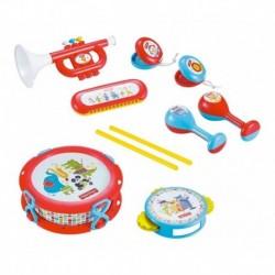 Set Banda Musical 10pcs Tambor Trompeta Fisher Price Dfp6610 (Entrega Inmediata)