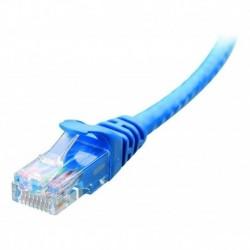¡ Patch Cord Cat 6a U/utp Powest 3ft (1m) Azul Nicomar !! (Entrega Inmediata)