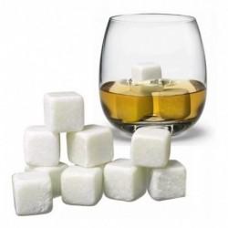 ¡ Set De 9 Hielo De Roca Piedras Térmicas Whisky En Rocas !! (Entrega Inmediata)