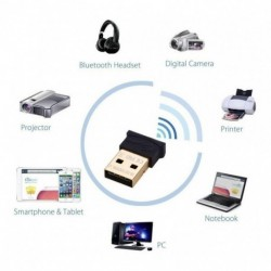 Receptor Bluetooth 4.0 Usb Transmision Hasta 100 Metros (Entrega Inmediata)