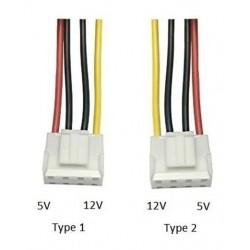 Cable De Poder Sata A 4 Pines Vh3.96 Mm Dvr Hikvision Dahua (Entrega Inmediata)