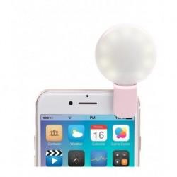 Aro Luz Led Usb Clip Lámpara Celular O Tablet (Entrega Inmediata)