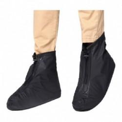 Zapatos Impermeable Protector Lluvia Antideslizante Negros (Entrega Inmediata)