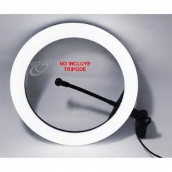 Aro Anillo De Luz 26cm, Control D Intensidad, 3 Tipos De Luz (Entrega Inmediata)