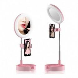 Aro De Luz Con Espejo Para Celular Mai Appearance (Entrega Inmediata)