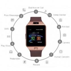 Reloj Inteligente Bluetooth Dz09 (Entrega Inmediata)