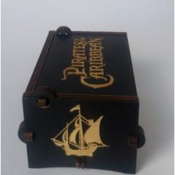 Piratas Del Caribe (davy Jones) Caja Musical (Entrega Inmediata)
