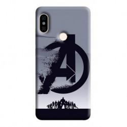 Estuche Forro Carcasa Avengers Logo Sony, Nokia, LG (Entrega Inmediata)