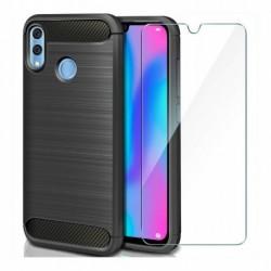 Funda Forro Estuche Huawei P Smart 2019 + Vidrio 2d (Entrega Inmediata)