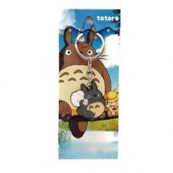 Mi Vecino Totoro Con Bolsa Llavero Metálico (Entrega Inmediata)
