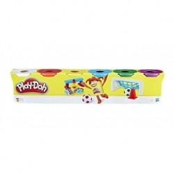 Play-doh Paquete X 6 Latas Colores Surtidos Entrega Inmediat (Entrega Inmediata)