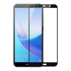 Vidrio Templado 2,5d Full Cover Huawei Y6 2018 Entrega Inmed (Entrega Inmediata)