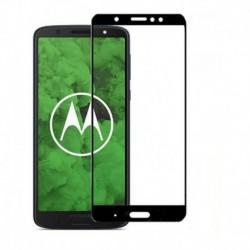 Vidrio Templado 5d Full Cover Motorola Moto G6 - G6 Plus (Entrega Inmediata)