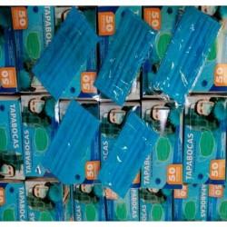 Tapabocas Desechable Caja X50 - Unidad a $598 (Entrega Inmediata)