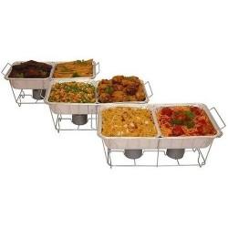 Juego De 24 Piezas Para Servir Buffet Cocina Alimentos (Entrega Inmediata)