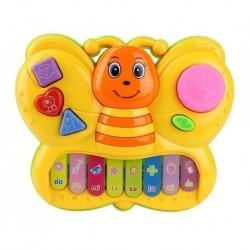 Piano Interactivo Mariposa Luces Y Sonidos Infantil Bebes (Entrega Inmediata)