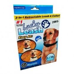 Lucky Leash 2 En 1 Collar Magnético L/xl 21187 (Entrega Inmediata)