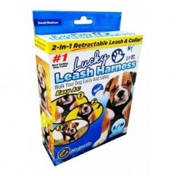 Lucky Leash Arnés 2 En 1 Collar Magnético S/m 21186 (Entrega Inmediata)
