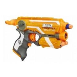 Pistola Nerf Elite Firestrike Naranja Hasbro Original (Entrega Inmediata)