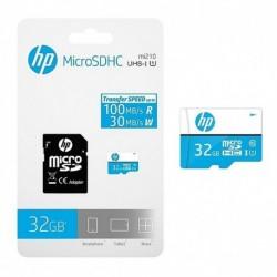 Memoria Micro Sd 32 Gb Hp Clase 10 Uhs-i 100 Mb/s Genuina (Entrega Inmediata)