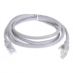 Cable De Red Utp 2 Mts Cat 6e Certificado Patch Cord Lan (Entrega Inmediata)