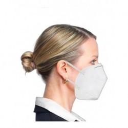 Respirador Tapabocas Plegable Niosh N95 Inds001 (Entrega Inmediata)