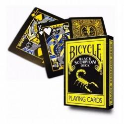 ¡ Cartas Bicycle Black Scorpion Baraja Poker Magia 100% !!