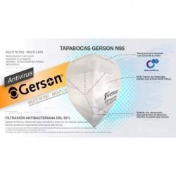 Tapabocas Gerson N95 Blanco X1 (Entrega Inmediata)