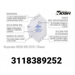 Tapabocas - Mascarilla N95 Con Certificación Niosh (Entrega Inmediata)