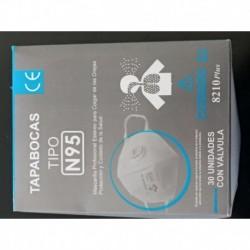 Tapabocas N95, Con Válvula Certificado Invima. (Entrega Inmediata)