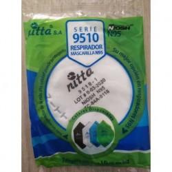 Tapabocas N95 Certificación Niosh (Entrega Inmediata)