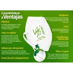 Tapabocas Respirador N95 Life 1095 Certificado Niosh (Entrega Inmediata)