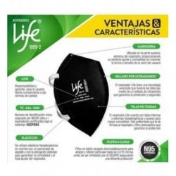 Tapabocas Respirador N95 Life 1095 Certificado Niosh Promo (Entrega Inmediata)