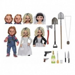 Figura Chucky Y Tiffany - Chucky Gets Lucky (Entrega Inmediata)