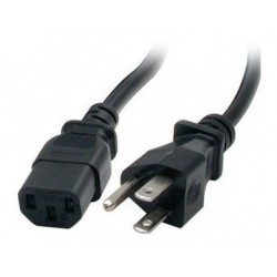 Cable De Poder Para Pc De 1-8 Metros (Entrega Inmediata)