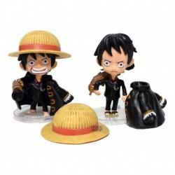 Luffy One Piece Set X2 Figura Coleccionable (Entrega Inmediata)