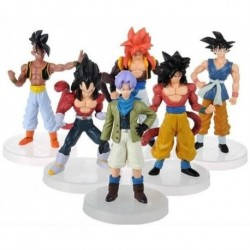 Figuras De Dragon Ball Sets X 6 Muñecos Goku + Obsequio