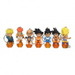 Llavero Esfera Dragon Ball - Goku Vegeta Krilin  Trunks (Entrega Inmediata)