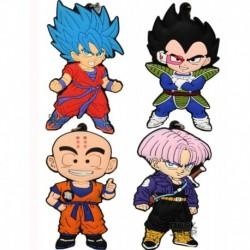 Llavero Goma Dragon Ball Goku Vegeta Shenlong (Entrega Inmediata)