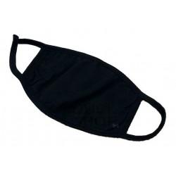 Tapabocas Negro Lavable Anti Polucion Kawai (Entrega Inmediata)