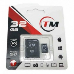 Memoria Microsd Tm 32 Gb Original Clase 10 (Entrega Inmediata)