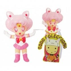 Dos Figuras Sailor Chibi Moon Bandai De 5 Y 8 Cm De Alto (Entrega Inmediata)