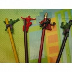 Set X 4 Figuras Decorativas O Toppers Para Lapiz (Entrega Inmediata)
