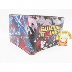 Billetera Escuadron Suicida Cuero Sintetico Nueva Importada (Entrega Inmediata)