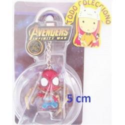Llavero 5 Cm Advenger Infinity War De Spiderman Ver Ojo (Entrega Inmediata)