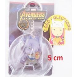 Llavero 5 Cm Advenger Infinity War De Thanos (Entrega Inmediata)