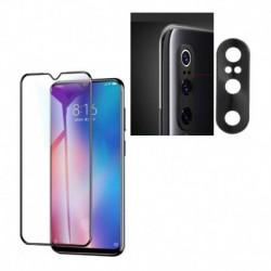 Kit Protector Metal Lente Cámara Xiaomi Mi 9 + Vidrio 6d (Entrega Inmediata)