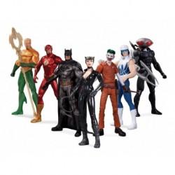 Super Heroes Vs Super Villanos Set Figuras Dc Collectibles
