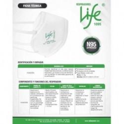 Mascarilla / Tapabocas N95 Niosh Life 2020 Nuevo Certificado (Entrega Inmediata)
